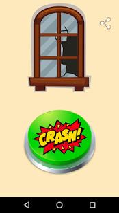 Broken Glass Meme Button