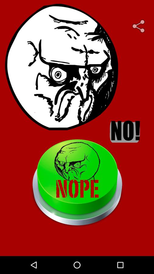 Nope Meme button
